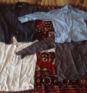 4 рубашки 35размер торг