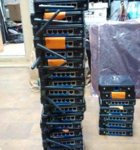 Роутеры, точки доступа для дома и офиса. Dlink , Cisco , Microtik, Ubiquiti и другие
