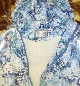 Зимняя куртка 104-110