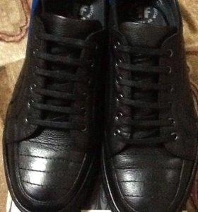 Кожаные П/ботинки мужские FRECCIA