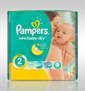 Pampers new baby dry 2
