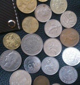 Монетки Из Разных Стран