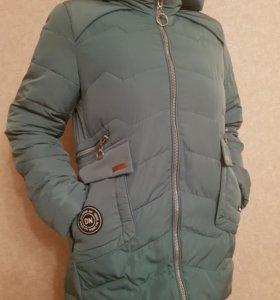 Куртка женская,теплая (новая) р.46