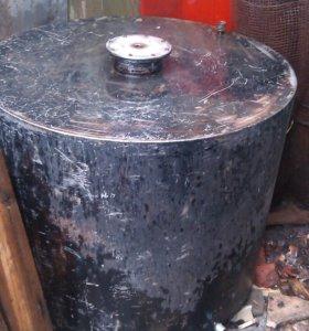 Бак для питьевой воды или бани 1000 л. (нержавеющая сталь)
