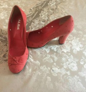 Туфли замшевые,ALBA