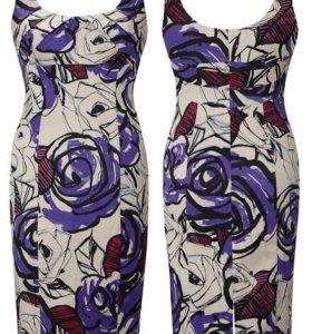 цветочное платье футляр от COAST оригинал