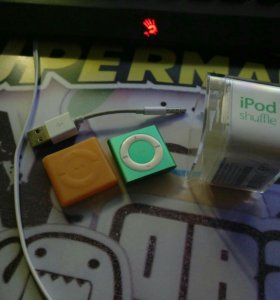 iPod shuffle 4 2gb green