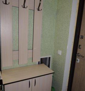 Гардеробный шкаф с вешалкой