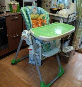стул для кормления chicco polly