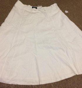 Белая юбка 50р
