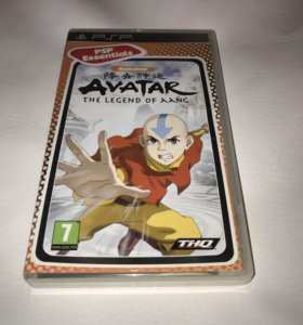 Игра на PSP Avatar The Legend Of Aang
