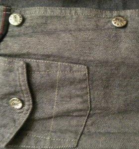 джинсовый костюм куртка и штаны привезены из германии