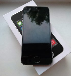 Новый iPhone 5S 16Gb Space Gray