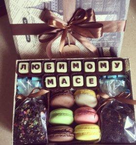 Подарок коробочка счастья