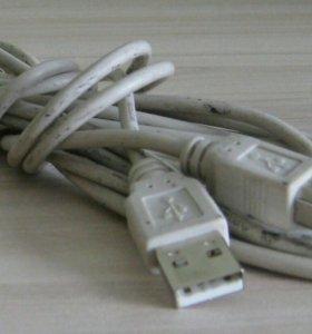 Кабель для принтера интерфейсный USB B