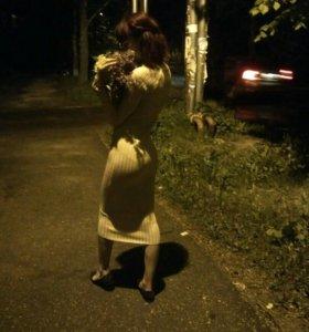Платье обтягивающие