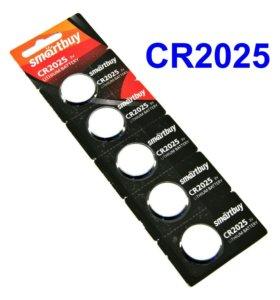 Батарейка литиевая CR2025 3 В 3V SmartBuy
