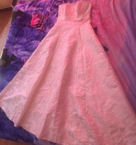 Продам свадебно платье, фату, перчатки