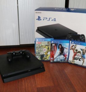 Playstation 4 на 500gb