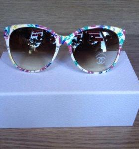 Цветные очки солнцезащитные