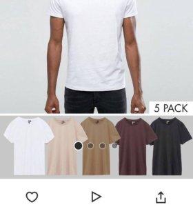 5 мужских футболок ASOS