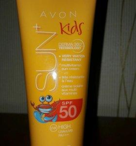 Солнце защитный крем для детей