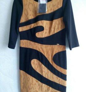 Новое теплое платье (с этикетками)