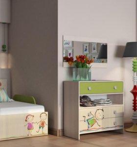 Детские и подростковые комплектация под любой размер комнаты