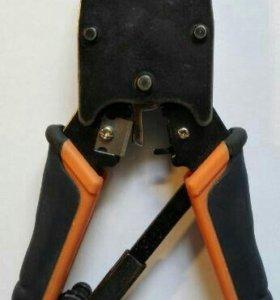 Обжимной инструмент RJ-11, RJ-12, RJ-45.