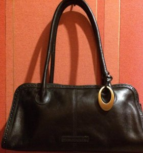 Кожаная сумка John Rocha