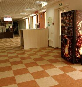 Торговый кофейный автомат для продажи горячих напитков