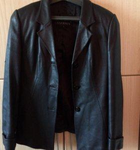 Пиджак кожа 44-46