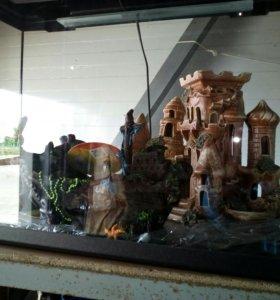 Новый аквариум 72 литра и другие обьемы