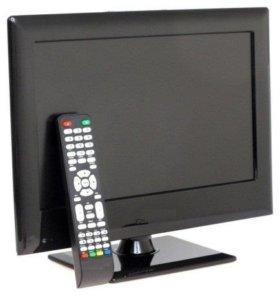 ЖК телевизор с цифровой приставкой 20 кан.