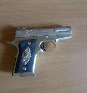 Пистолет игрушечный металл