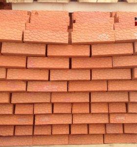 Кирпич красный керамический полнотелый М125/150