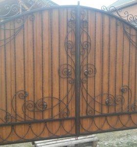 Ворота,Навесы.
