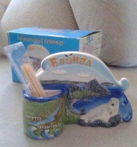 Новая салфетница Байкальский сувенир