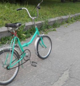 Велосипед аист складной