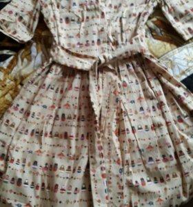 Платье с матрешечками!☺