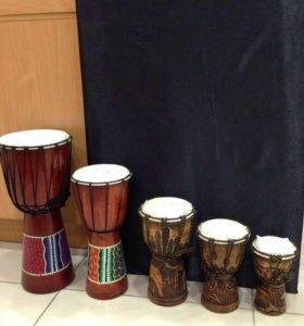 Барабаны африканские
