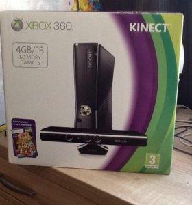 Игровая консоль Xbox 360 + Kinekt