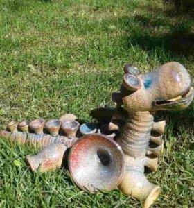 Дракон керамика