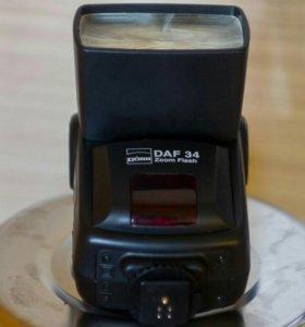 Вспышка Dorr DAF 34 zoom flash for Canon