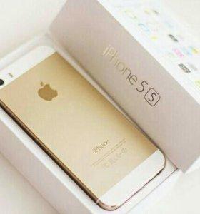 iPhone 5s 16gb Gold (золото). Как новый
