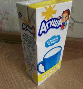Молоко Агуша 1 литр