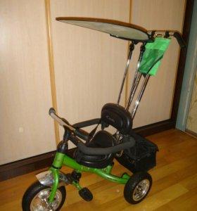 Детский трех колесный велосипед capella royal trik
