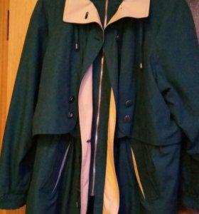 Куртка-парка женская