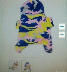 Куртка для собак мелких пород
