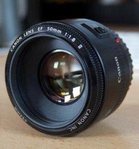 Canon EF 50mm/ f1.8